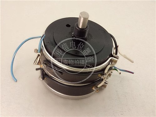 [VK] Used MOD 1700-1106 RES 5K 0.75% double conductive plastic potentiometer 12 feet switch