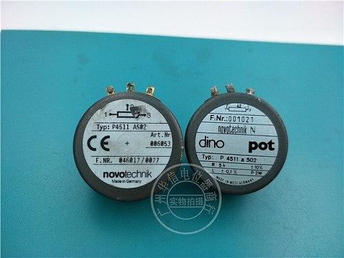 [VK] Second - hand imports of conductive plastic potentiometer angle sensor A5K DINO POT P4511 A502 switch