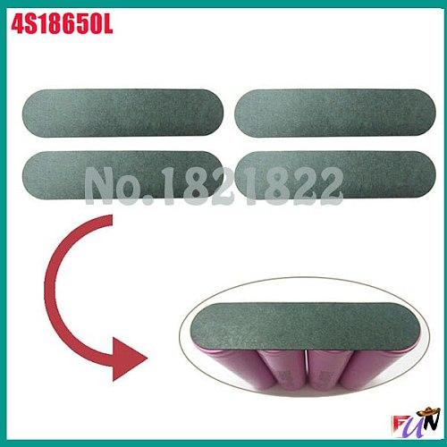 10pcs/alot 18650 4S  insulating PAD battery protection PAD