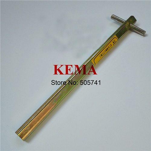 1pc 200mm Door Key  Elevator Door Key Triangle key lengthened triangular key Elevator spare parts