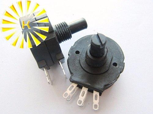 RVS286 1K 2K 4.7K 5K 10K 20K 47K 50K 100K 200K 470K 1M 2W Carbon Film Seal Duplex Potentiometer Pot replace WTH118 x 20PCS
