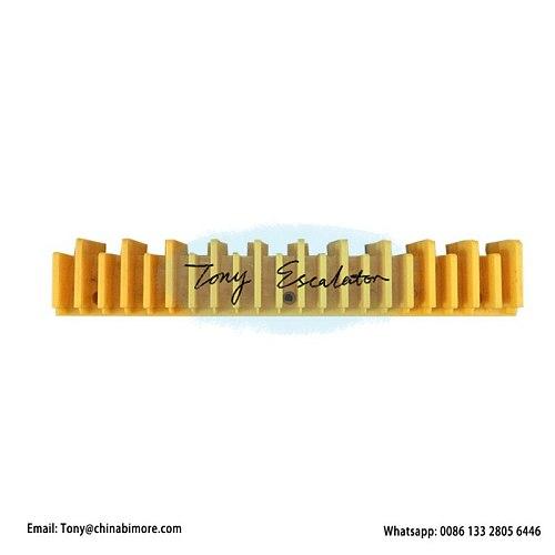 Escalator Yellow Plastic Demarcation L57332120A&B L199mm W33mm 22 Teeth