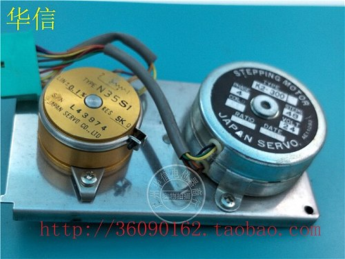 [VK] Used N35SI 5K conductive plastic potentiometer K2-300 combination with gear potentiometer switch