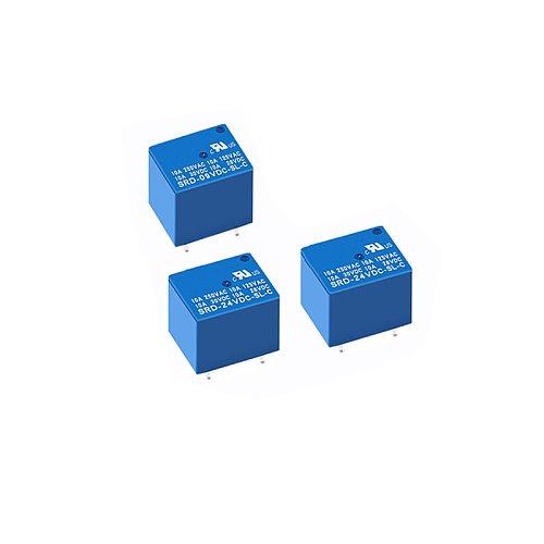 5PCS Relays 5PIN SRD-05VDC-SL-C SRD-09VDC-SL-C SRD-12VDC-SL-C SRD-24VDC-SL-C SRD-48VDC-SL-C DC 5V 12V 24V 48V Power Relays