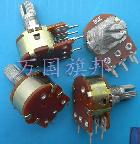 Free Delivery. Adjustable resistance humidifier 148 duplex potentiometer switch B5K five feet short shank