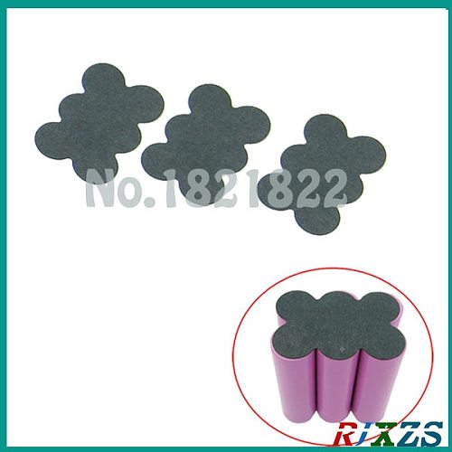 10pcs/alot 18650 3S insulating paper COVER 18650 battery protection COVER 2P