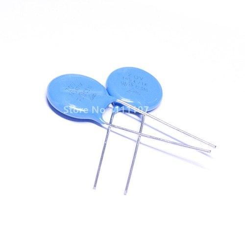 20PCS 14D471K Varistors 14D-471K 470V Piezoresistor Metal Voltage Dependent Resistor