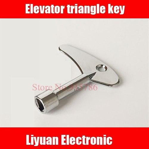 2018 new version elevator triangle key / train door triangle lock / universal triangle key / elevator accessories