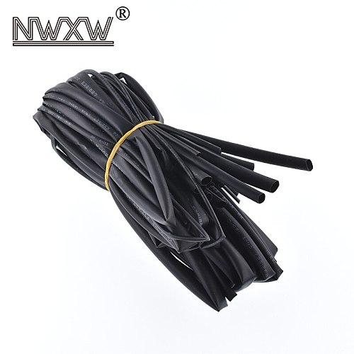 4/5/6/10 kinds/a lot heat shrinkable tube insulation sleeve data line electric cable protection heat shrinkable soft sheath