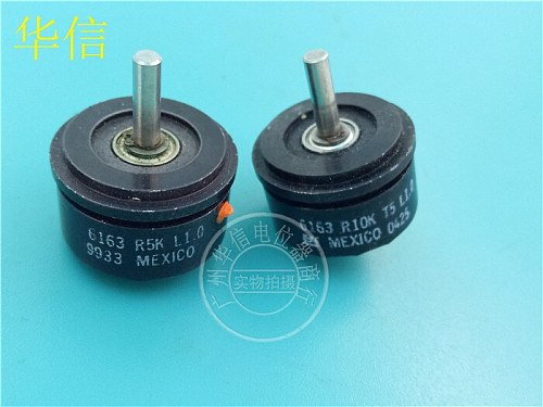 [VK] Used BI 6163 R10K R5K L1.0 conductive plastic potentiometer angle sensor switch