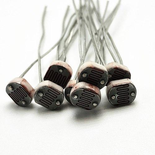 50PCS/LOT (5 values * 10pcs) LDR Photo Light Sensitive Resistor Photoelectric Photoresistor Kit for 5506 5516 5528 5537 5539