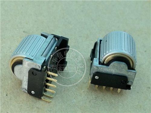 [BELLA]The original Japanese M encoder potentiometer with tyre press switch 6 pin EVQWGD001--10pcs/lot