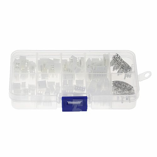 150pcs XH2.54 2p 3p 4p 5 pin 2.54mm Pitch Terminal Kit / Housing / Pin Header JST Connector Wire Connectors Adaptor XH Kits