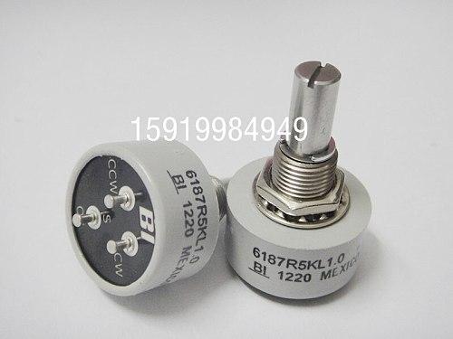BI conductive plastic potentiometer 6187R 5K 360-degree limitless import spot single lap switch