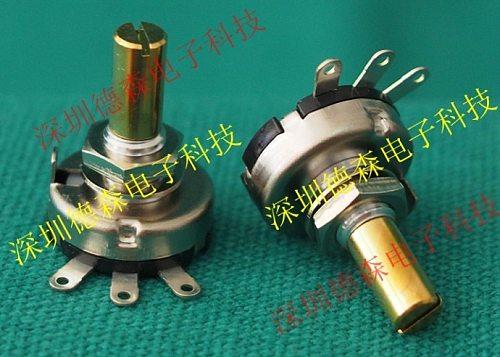 COPAL conductive plastic potentiometer CRV16 1k 2k 5k 10k CRV16-00-502 102 202 103 switch