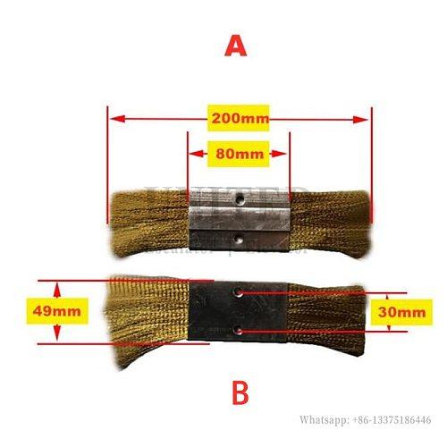 5 pcs Escalator Anti Static Brush Use For 9300 9500 9700 SEE310595 A Type B Type
