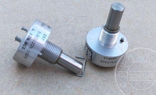 original 157 50k conductive plastic potentiometer shaft 22mm axle diameter 6.4mm switch