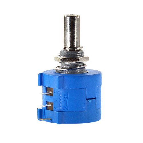 3590S-2-103L 3590S 100 - 10K ohm Precision Multiturn Potentiometer 10 Ring Adjustable Resistor + Turns Counting Dial Rotary Knob