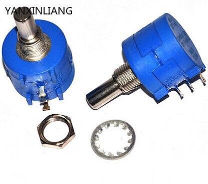 3590S-2-102L 3590S 1K ohm Precision Multiturn Potentiometer 10 Ring Adjustable Resistor