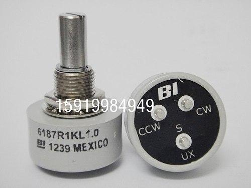 [VK] BI 6187R 1K L1.0 imported conductive plastic potentiometer 360-degree limitless spot switch