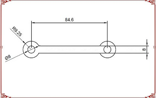 6pcs/alot 18650 insulating PADbattery protection cover PAD