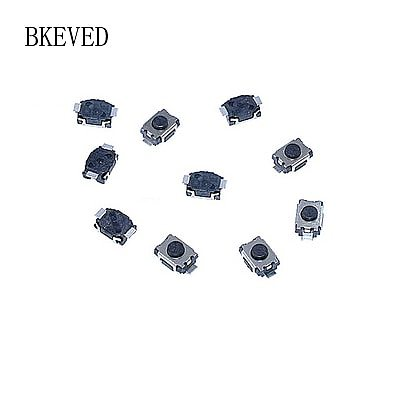 100pcs/lot 3*4*2MM small tortoise Switch 2pin SMD MP3/MP4 phone button Touch button Micro switch 3X4X2