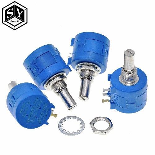 3590S Multiturn Potentiometer 500 1K 2K 5K 10K 20K 50K 100K ohm Potentiometer Adjustable Resistor 3590 102 202 502 103