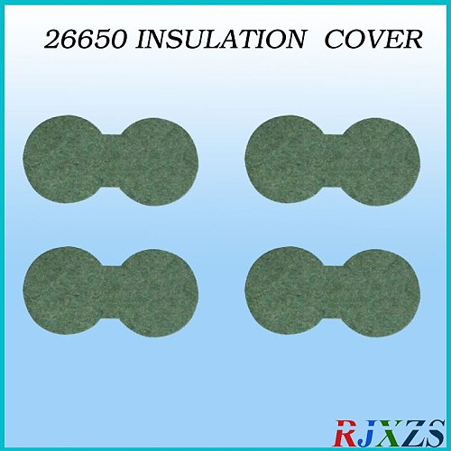 10pcs/alot 26650 insulating cover 2 cells  battery protection COVER
