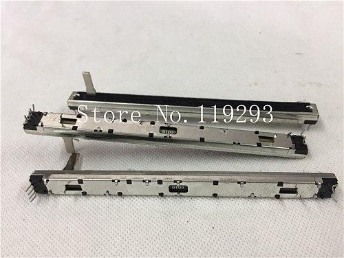 [BELLA]Soundcraft FX16II master fader console fader duplex potentiometer 128mm 12.8cm B10K double  B10KX2 15MMC SC1008G.--10PCS