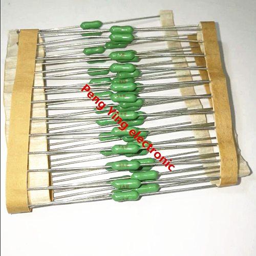 20PCS 2.4*7mm 125/250V 2.4*7 Axial lead Green fuse 63mA 125mA 250mA F1A 2A 4A F5A 7A 8A F10A 15A Quick break resistance fuse