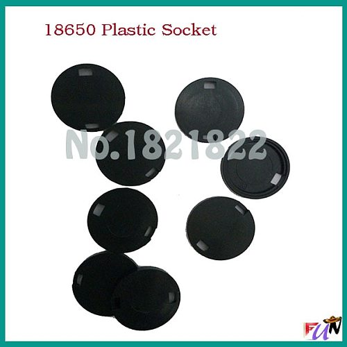 10pcs/a lot 18650 plastic socket  18650 protection socket