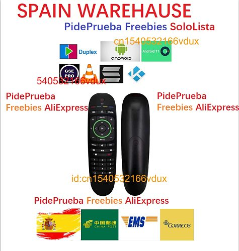 CONTROL Remoto Bluetooth v2  decodificador no app included  m3u  M19 m3u desde España  ADB 2840 Triwave  (Tenet) gse duplex