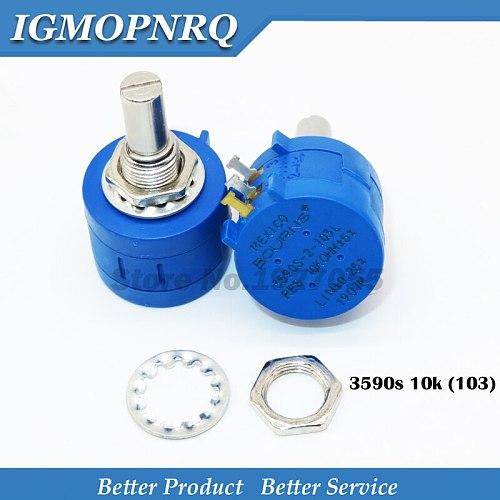 1PCS 3590S-2-103L 3590S 10K ohm 103 3590S-2-103 3590S-103 Precision adjustable resistance series new