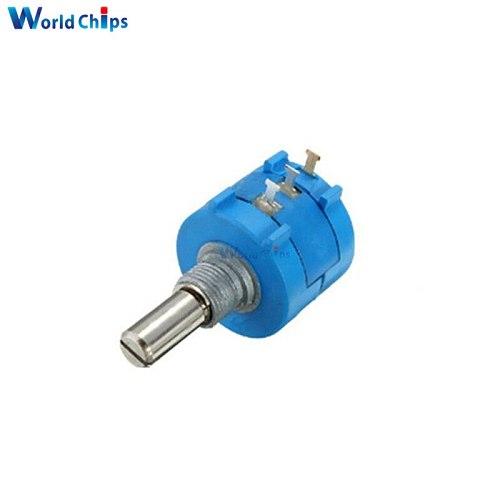 3590S-2-502L 3590S 5K ohm Precision Multiturn Potentiometer 10 Ring Adjustable Resistor