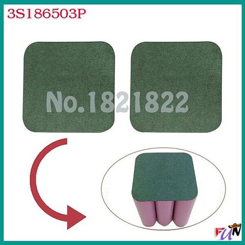10pcs/alot 18650 3S  insulating PAD battery protection PAD 3P