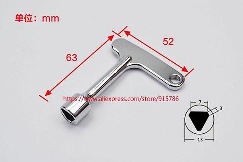 11pcs Elevator Triangle Key / Triangle Lock / Train Door Key