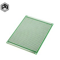 1pcs 7x9 cm PROTOTYPE PCB 7*9cm panel double coating/tinning PCB Universal Board double Sided PCB 2.54MM board Green