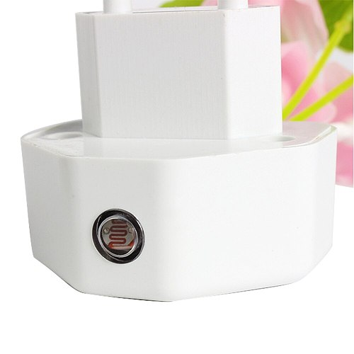 20V 3 LED Wall Light-control Sensor Night Light Induction Dream Fung  Mushroom Lamp Home Bedroom Decoration EU & US Plug