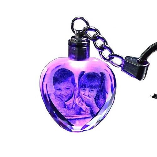 Photo Custom Crystal Keychain-Custom Light