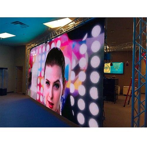P10 Indoor LED Display Screen Panel 320*160mm 32*16 Pixel 1/8 Scan SMD3528 RGB Full Color Matrix Sign
