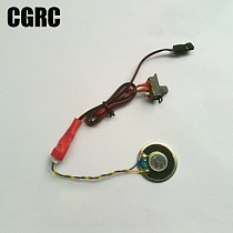 Simulation Police Car Siren Alarm Sound Fire Fighting Sound for 1/10 1/8 RC Crawler TRX4 TRX6 1/14 RC Truck SCANIA ACTROS