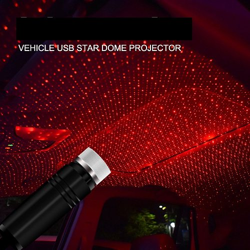 Usb Led Roof Atmosphere Star Light For Cars and Home Decoration Projector Adjustable Atmosphere Ambient Night Light Lampe