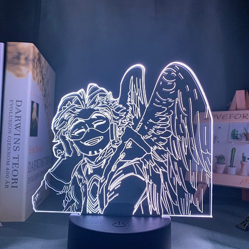 My Hero Academia Hawks Lamp Anime for Bedroom Decor Child Kids Birthday Gift Manga Gadget Dropshipping Hawks Led Night Light