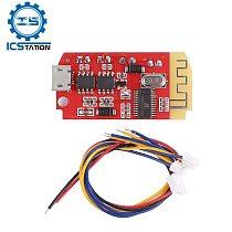 CT14 5W*2 Bluetooth 5.0 Digital Audio Stereo Amplifier Board Dual Plate Speaker Modification Sound Music Module USB DC 3.7V 5V