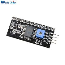 IIC I2C TWI SPI Serial Interface Board Port For Arduino 1602 2004 LCD LCD1602 Adapter Plate LCD Adapter Converter Module DIY KIT