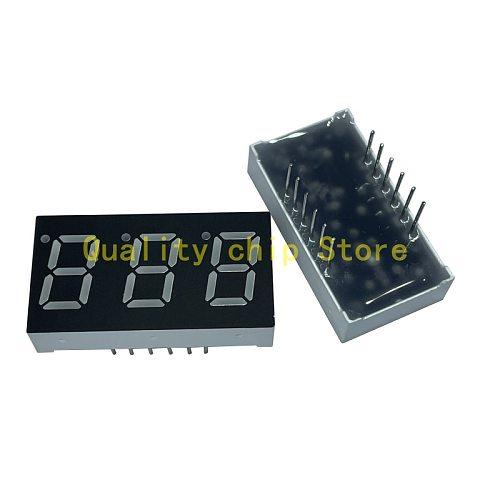 5pcs 0.4 inch 3bit Common Cathode Digital Tube Red LED Digit Display 7 Segment 0.4inch 0.4 inch 0.4'' 0.4in 3 bit