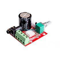 Hot Sale 12V Mini Hi-Fi PAM8610 Audio Stereo Amplifier Board 2X10W Dual Channel D Class Lowest Price