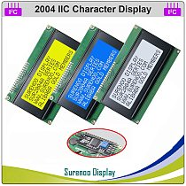 Serial IIC I2C TWI 2004 204 20*4 English & Japanese Character LCD Module Display Panel Screen for Arduino