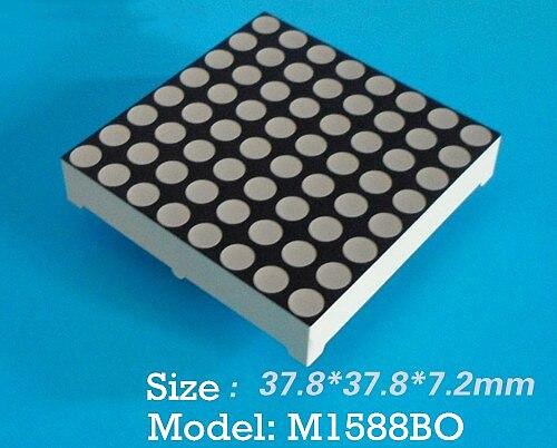 LED Dot Matrix Conventional General 3.75 Orange Dot Matrix 3.75 dot matrix 1588 dot matrix 88 dot matrix