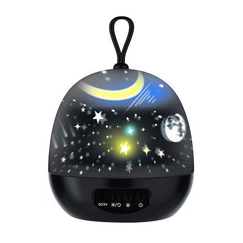 Galaxy Night Light Projector 360 Degree Rotating Star LED Night Lamp for Kids Led Lights For Bedroom